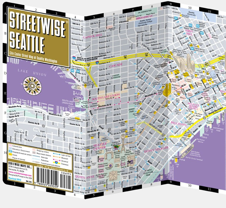 Street Wise Maps A Great Little Resource For A Modern Game – Seattle Tourist Map