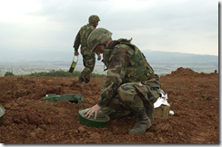 Public Domain Photo of Soldiers Removing Landmines. http://commons.wikimedia.org/wiki/File:US_Soldiers_removing_landmines.jpg